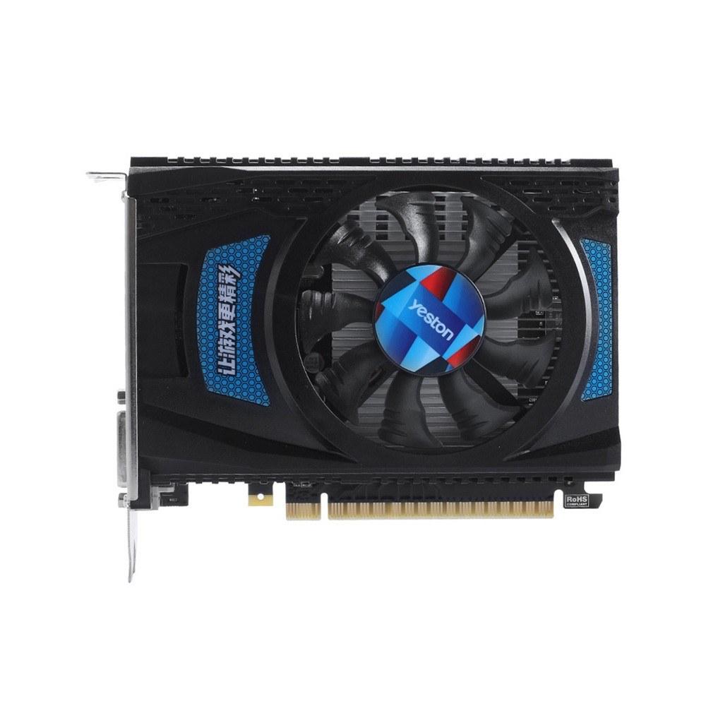 Yeston RX550--4G D5 Graphics Cards Radeon Chill 4GB Memory GDDR5 128Bit  6000MHz DP1 4HDR+HDMI2 0b+DVI-D Small Size GPU