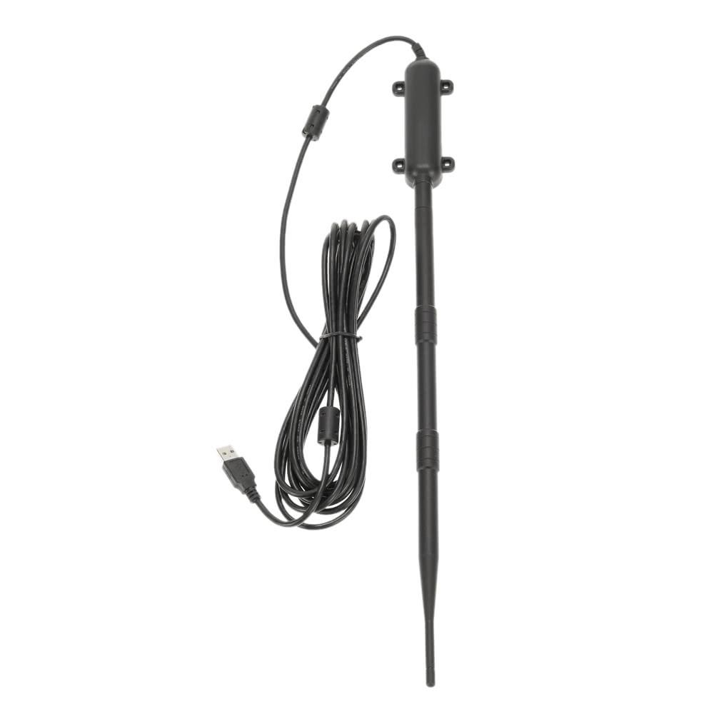 Outdoor High Power WiFi USB Adapter 150Mbps Wireless Network Card Signal  Receiver 13dBi External Omni-directional Antenna 802 11b/g/n