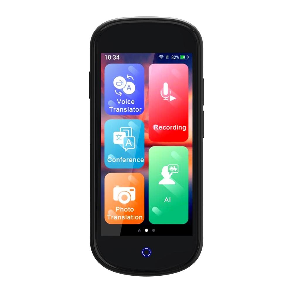 tomtop.com - 32% OFF V12 4G Smart Translator Support Online/Offline/Photo Translation with 4 inch Touch Screen, $118.99