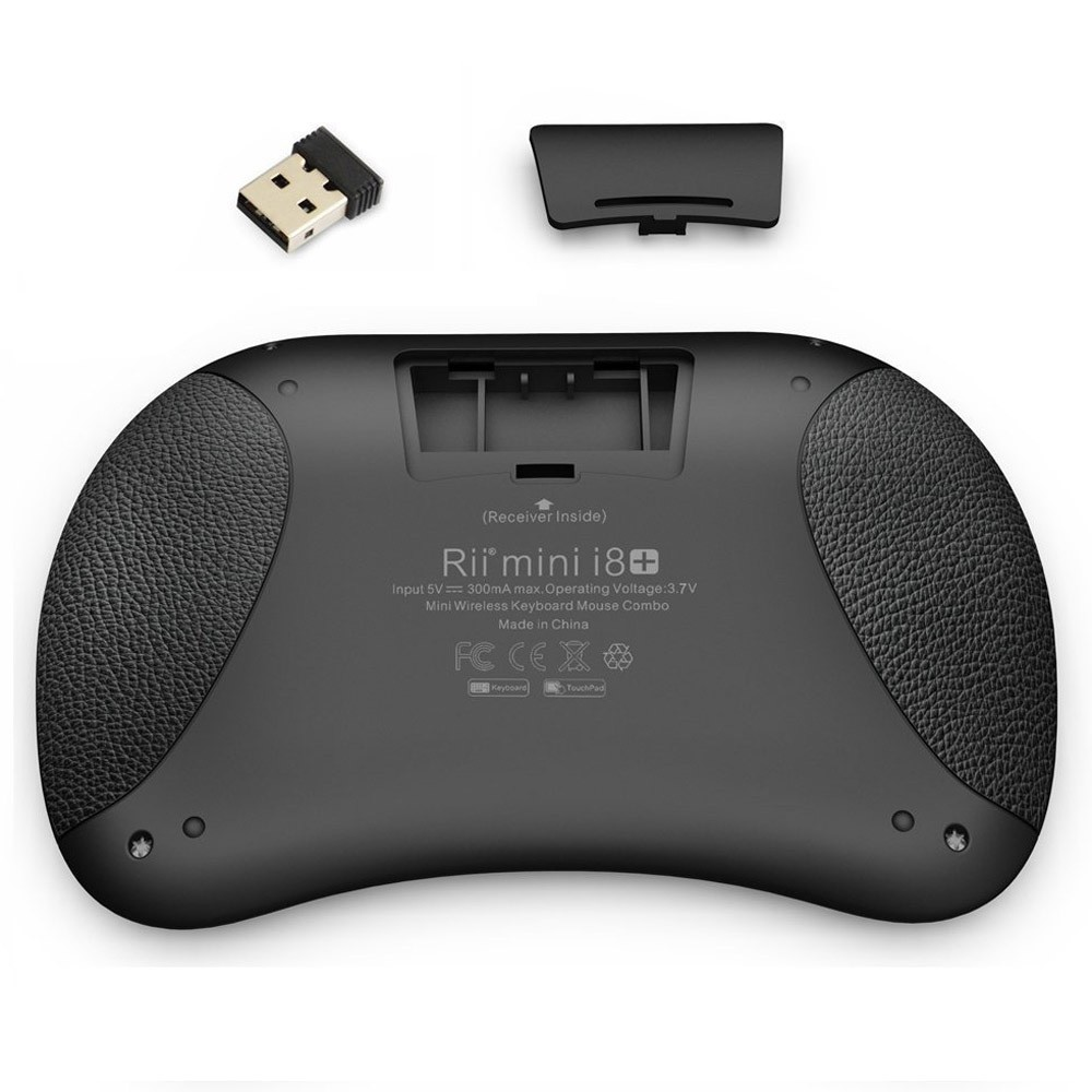 30880d9eb16 Rii i8+ 2.4G Mini Wireless Keyboard with Backlit Multi-touch US Layout  Handheld for Andriod TV Box HTPC PC Pad (RT-MWK08+) Sales Online black -  Tomtop