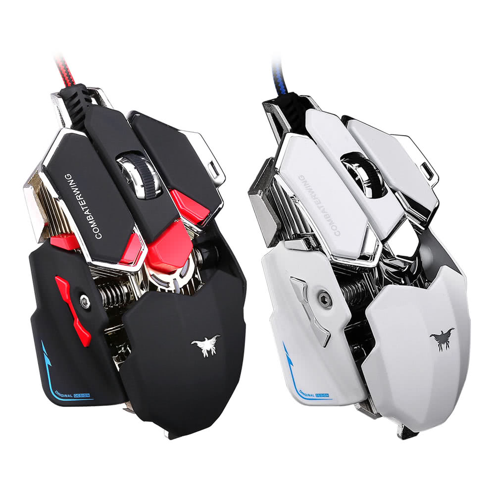 Combaterwing 4800 DPI Optical USB Wired Professional Esport Gaming ...