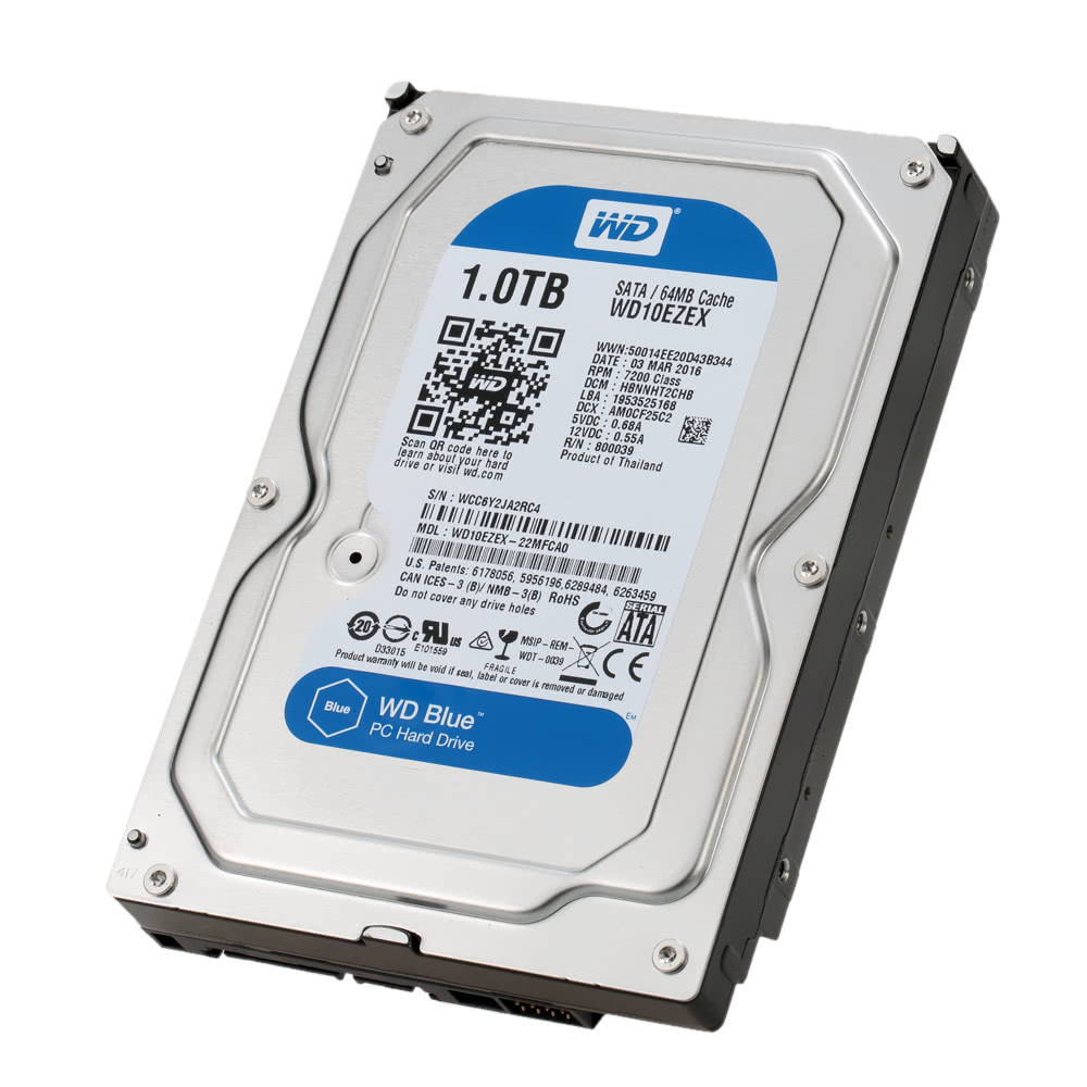 Western Digital Wd Blue 1tb Desktop Hdd Internal Hard Disk Drive Hardisk Pc 250 Gb Seagate Sata 5400 Rpm 6gb S 64mb Cache 35 Inch Wd10ezrz Sales Online Tomtop