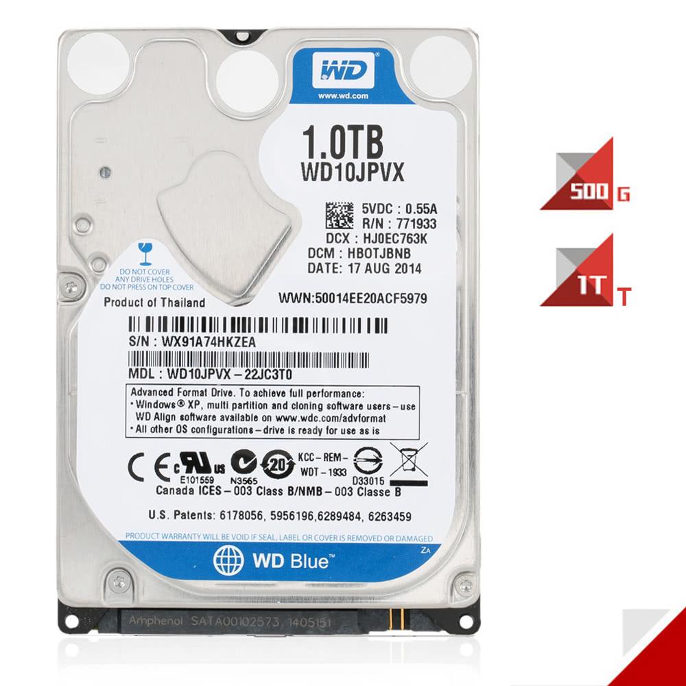 Western Digital Wd Blue 500g 7mm Laptop Hdd Internal Notebook Hard Hardisk Pc 500gb Sata Disk Drive 5400rpm 6gb S 16mb Cache 25 Inch Wd5000lpcx Sales Online C2981 1tb