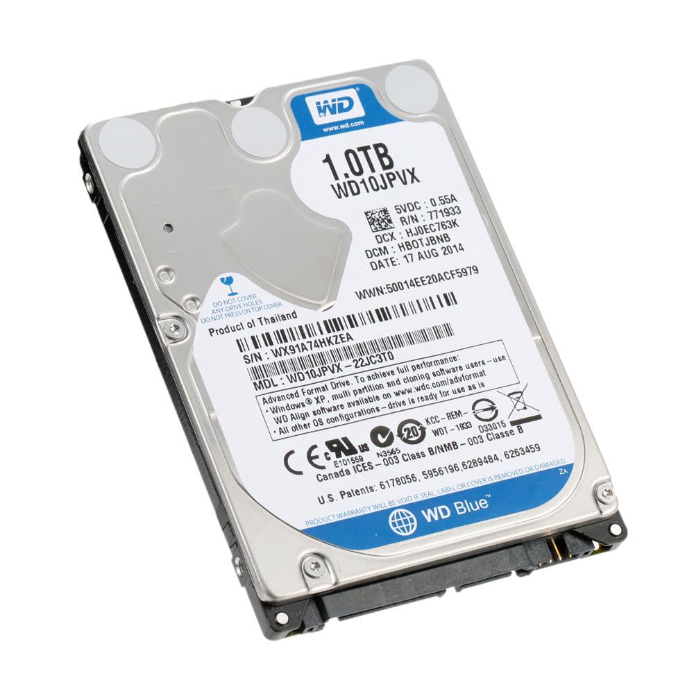 Western Digital WD Blue 500G 7mm Laptop HDD Internal Notebook Hard Disk Drive 5400RPM SATA 6Gb/s 16MB Cache 2.5-inch WD5000LPCX