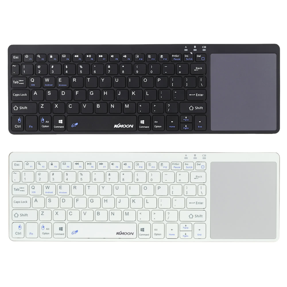 126a7506317 KKmoon Portable Ultra Slim Thin BT 3.0 Wireless Keyboard with Touchpad for  iPhone 6s/iPad Pro/MacBook Mobile Phone Tablet PC Sales Online black -  Tomtop