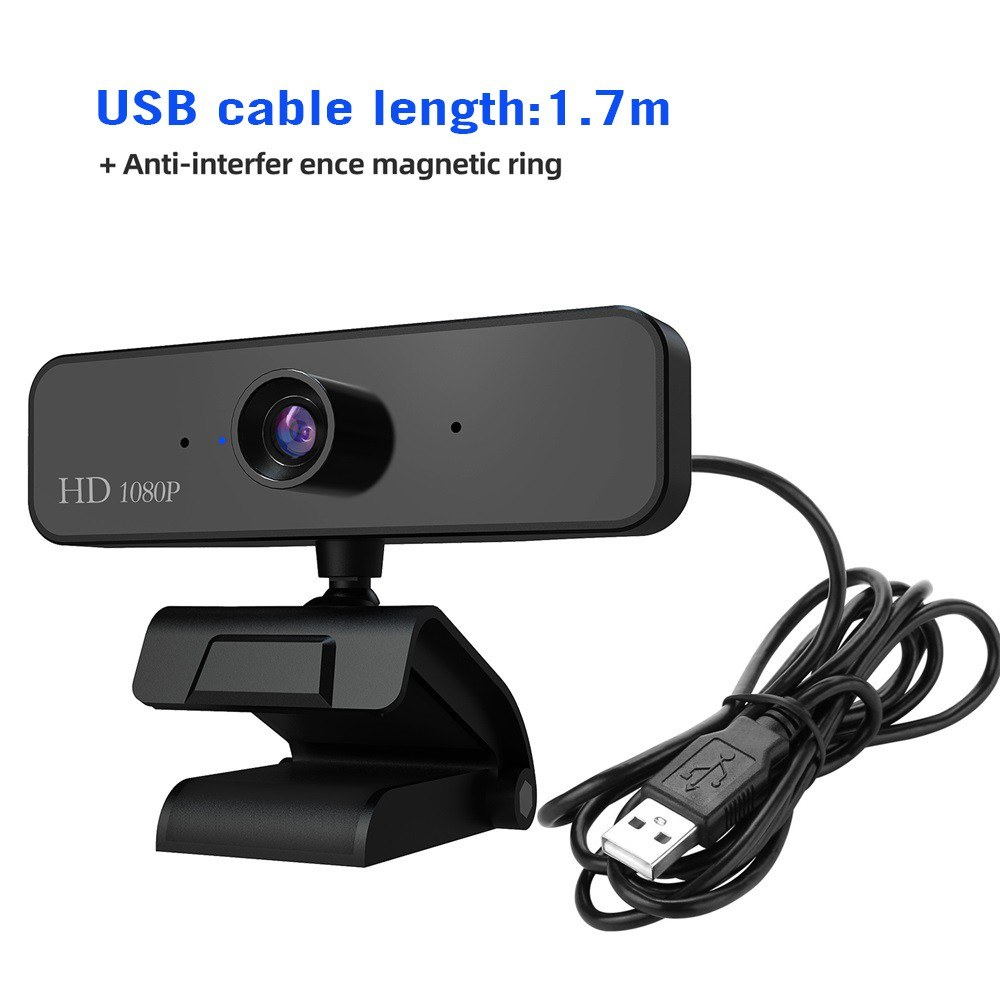 Best HXSJ S2 HD 1080P Webcam Built-in Microphone High-end Video Call black  Sale Online Shopping | Cafago com