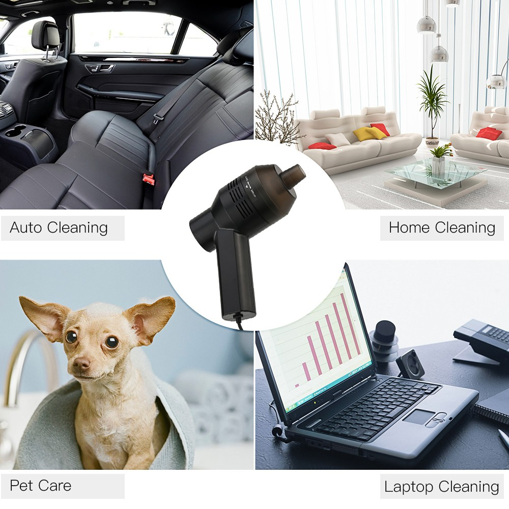 Mini Usb Desk Electric Vacuum Cleaner Portable Wired Keyboard Dust Collection Kit