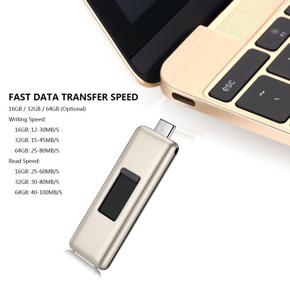 Oscoo Usb 30 Type C 31 Flash Drive Dual Memory Sandisk Otg 32gb Ultra Sticks U Disk For Smartphone Computers New Macbook
