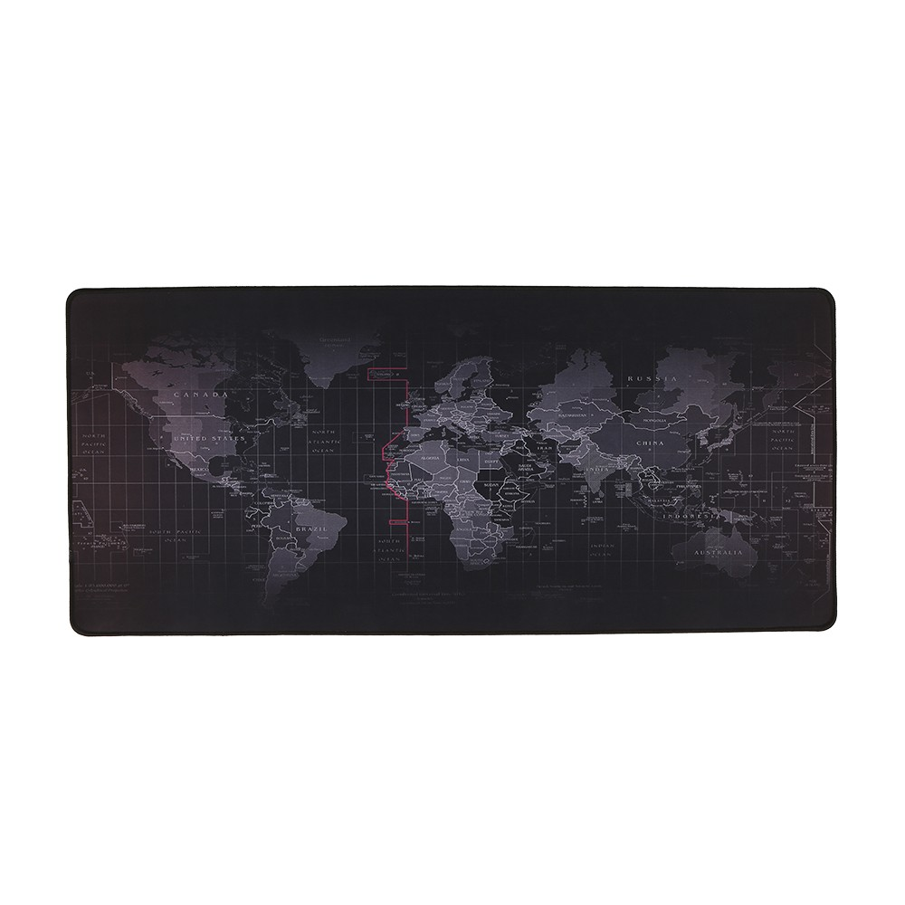 World Map Pattern Gaming Mouse Pad Non Slip Rubber Base Large Desk Table Mat Extended S L Tomtop