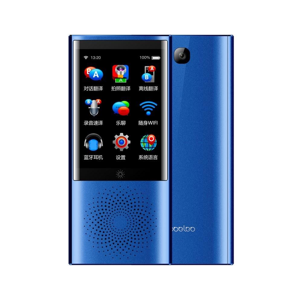 Best Boeleo W1 Translator Smart Business Travel Ai Blue Sale Online Shopping Cafago Com