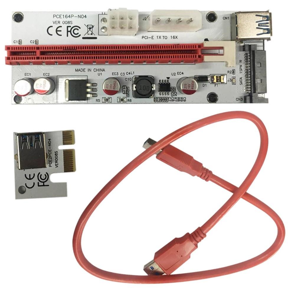 Beste PCI-E 1X bis 16X Video Line Transfer Verkabelung der Mining ...