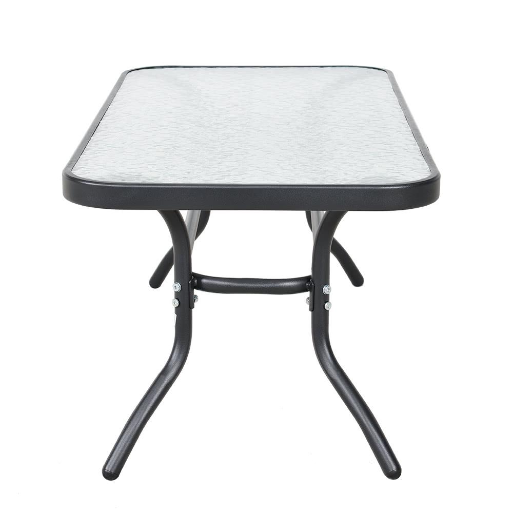 iKayaa Moda 4 Piezas Acolchonadas Patio Muebles de jardín Sofá juego ...