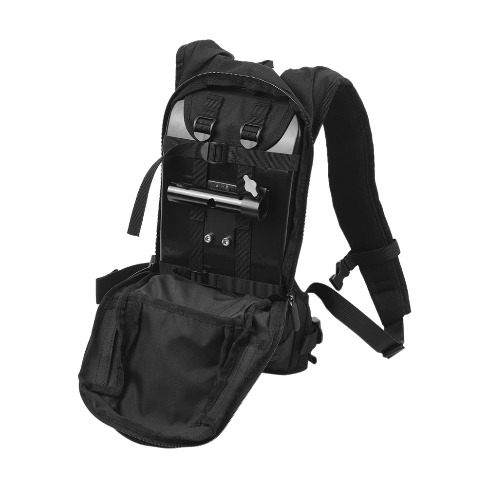 Shoot Sports Camera Selfie Photography Backpack Bag With Mounting Sportcam Non Wifi Action Cam Gopro Bracket Adapter For 5 4 3 Xiaoyi Sjcam Cameras Outdoor Skiing