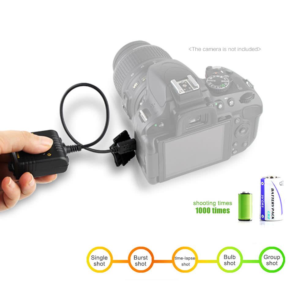 Sidande WX2006 Wireless Shutter Remote Control Release for Nikon D7000  D5000 D3100 D90 Digital Camera Sales Online - Tomtop