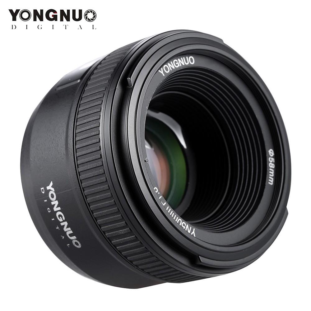Beste YONGNUO YN50mm F1.8 Große Blende AF Autofokus FX DX Full Frame ...