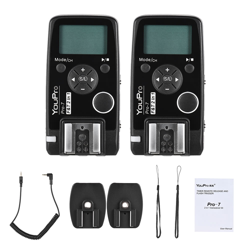 Youpro Pro 7 Wireless Shutter Timer Remote And Flash Trigger Sales