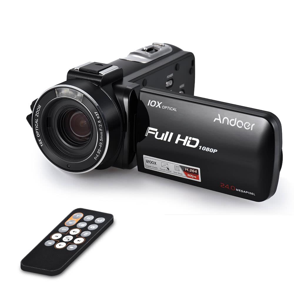 Andoer HDV-Z82 1080P Full HD Digital Video Camera Camcorder
