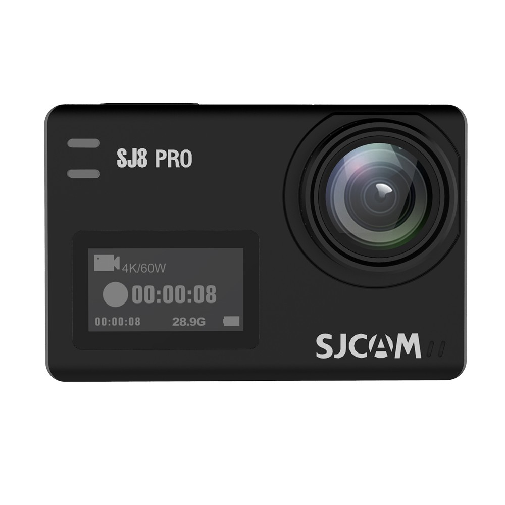SJCAM SJ8 PRO Action Camera 4K/60FPS WiFi Sports Cam Black Bare-metal Version