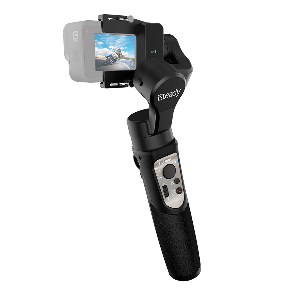 tomtop.com - 47% OFF hohem iSteady Pro 3 Handheld 3-Axis WiFi Action Camera Gimbal Stabilizer, Limited Offers $84.99