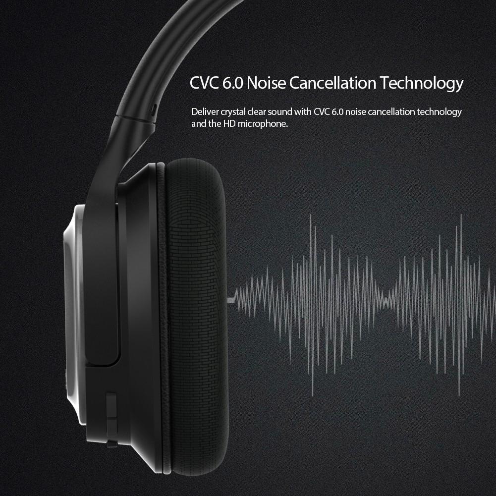 dodocool 2-in-1 EQ Curve Cuffia con cancellazione del rumore CVC 6.0  cablata e wireless - Tomtop.com cea635d3ec23