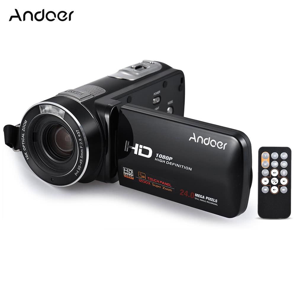 cam scope andoer hdv z80 1080p full hd cam ra vid o. Black Bedroom Furniture Sets. Home Design Ideas