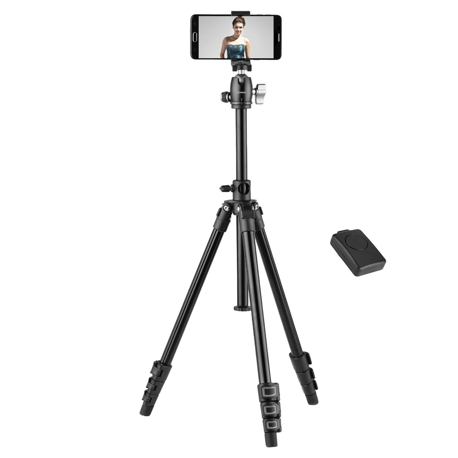 Tomtop - [EU Warehouse] 63% OFF Andoer Q160H Portable Camera Tripod, $33.99 (Inclusive of VAT)