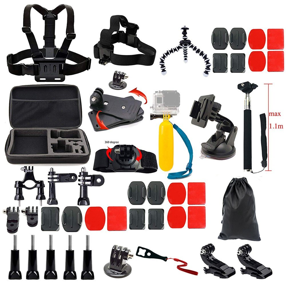 44pcs Camera Accessories Cam Tools