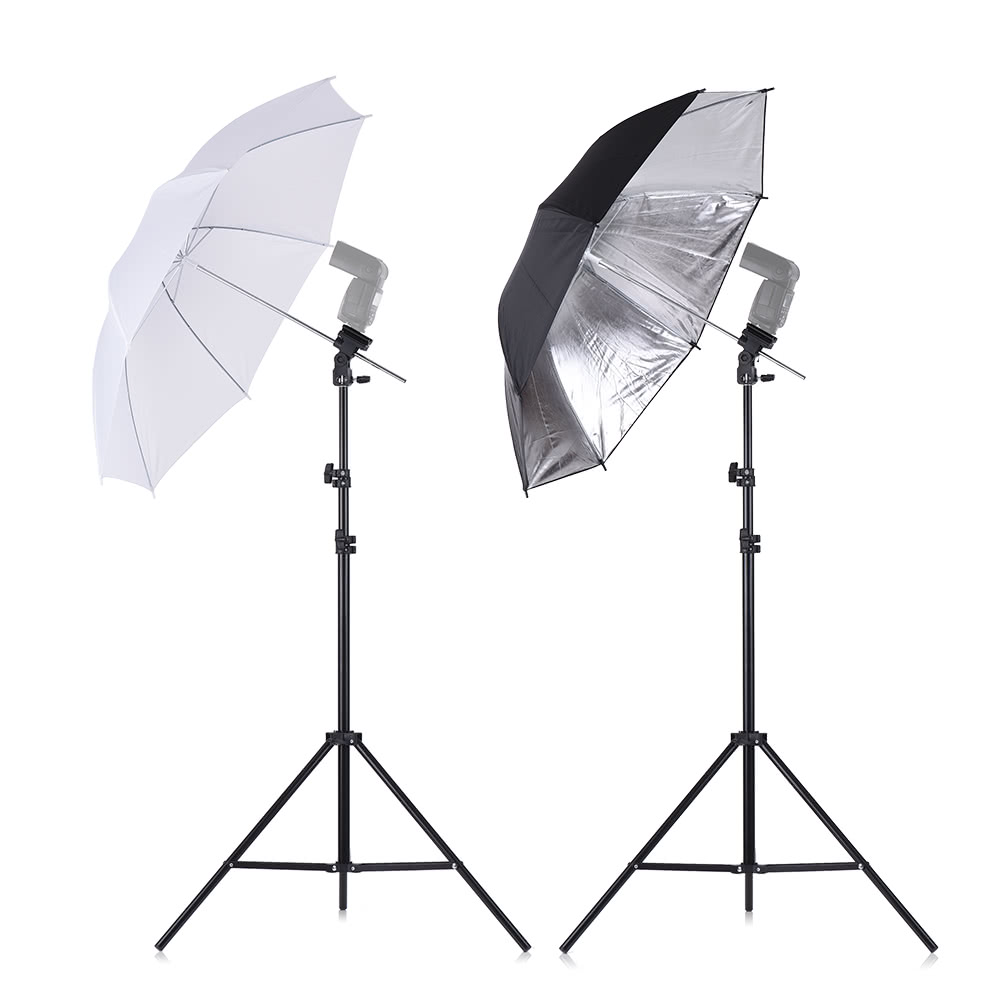 tomtop.com - [EU Warehouse] 63% OFF Andoer Off Camera Soft Umbrella Kit, $29.99 (Inclusive of VAT)