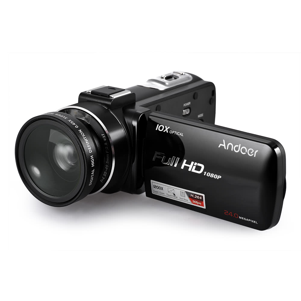 Andoer HDV-Z82 1080P Full HD Digital Video Camera Camcorder