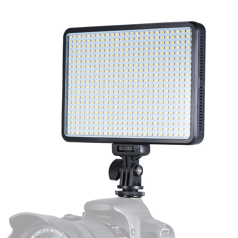 Andoer W500 Professional Dimmable LED Video Light Fill Light