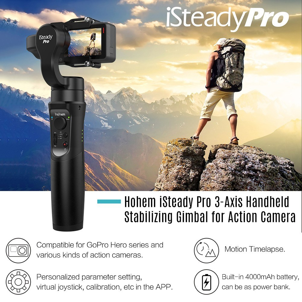 5925-OFF-Hohem-iSteady-Pro-3-Axis-Handheld-Stabilizing-Gimballimited-offer-246999