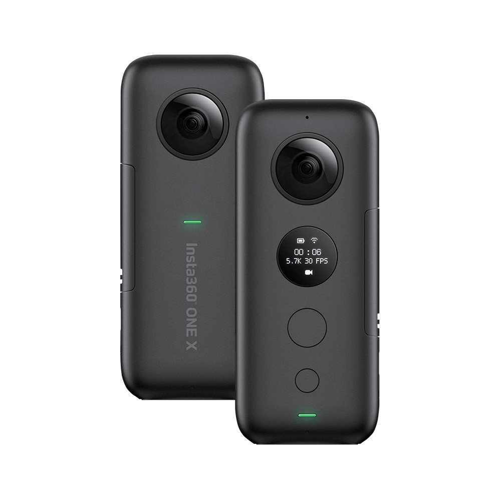 Insta360 ONE X FlowState Stabilization Panoramic Action Camera