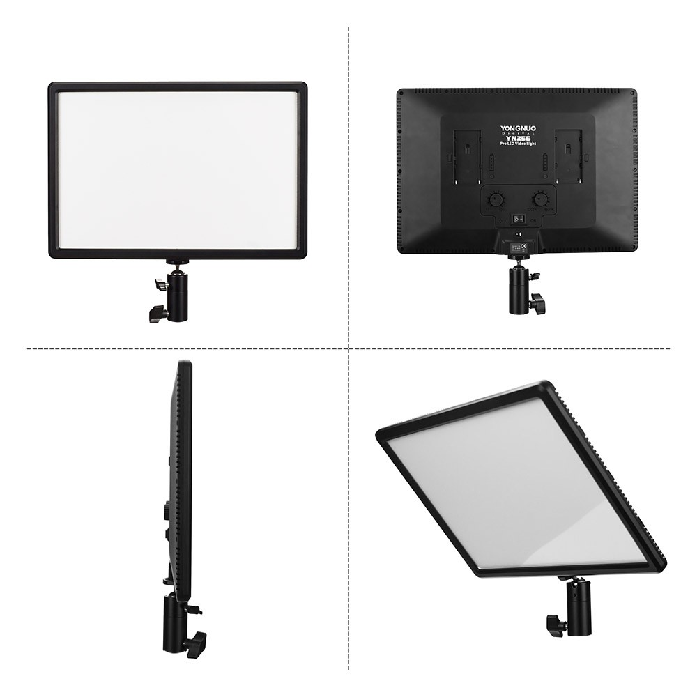 Best YONGNUO YN256 LED Video Light 01# Sale Online Shopping | Cafago com