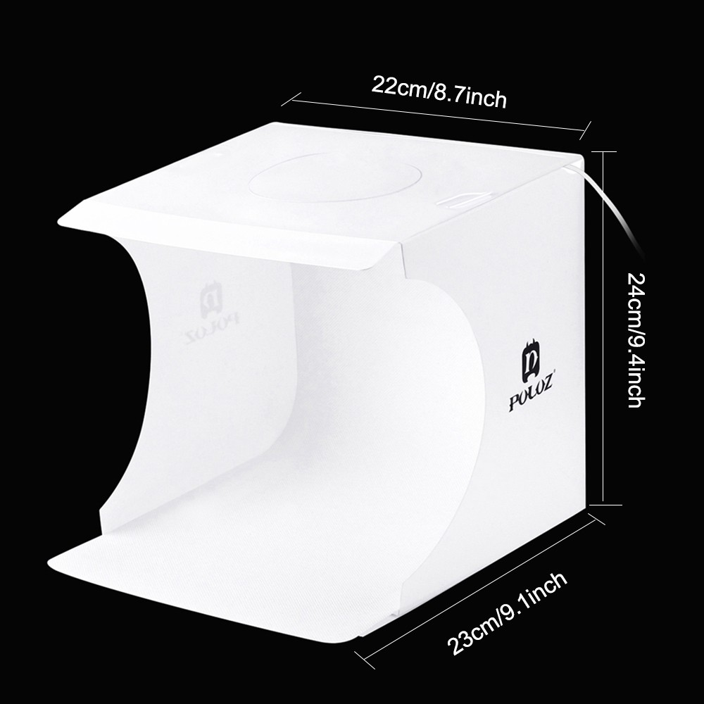 PULUZ Mini Folding Lightbox  Photo Background Kit