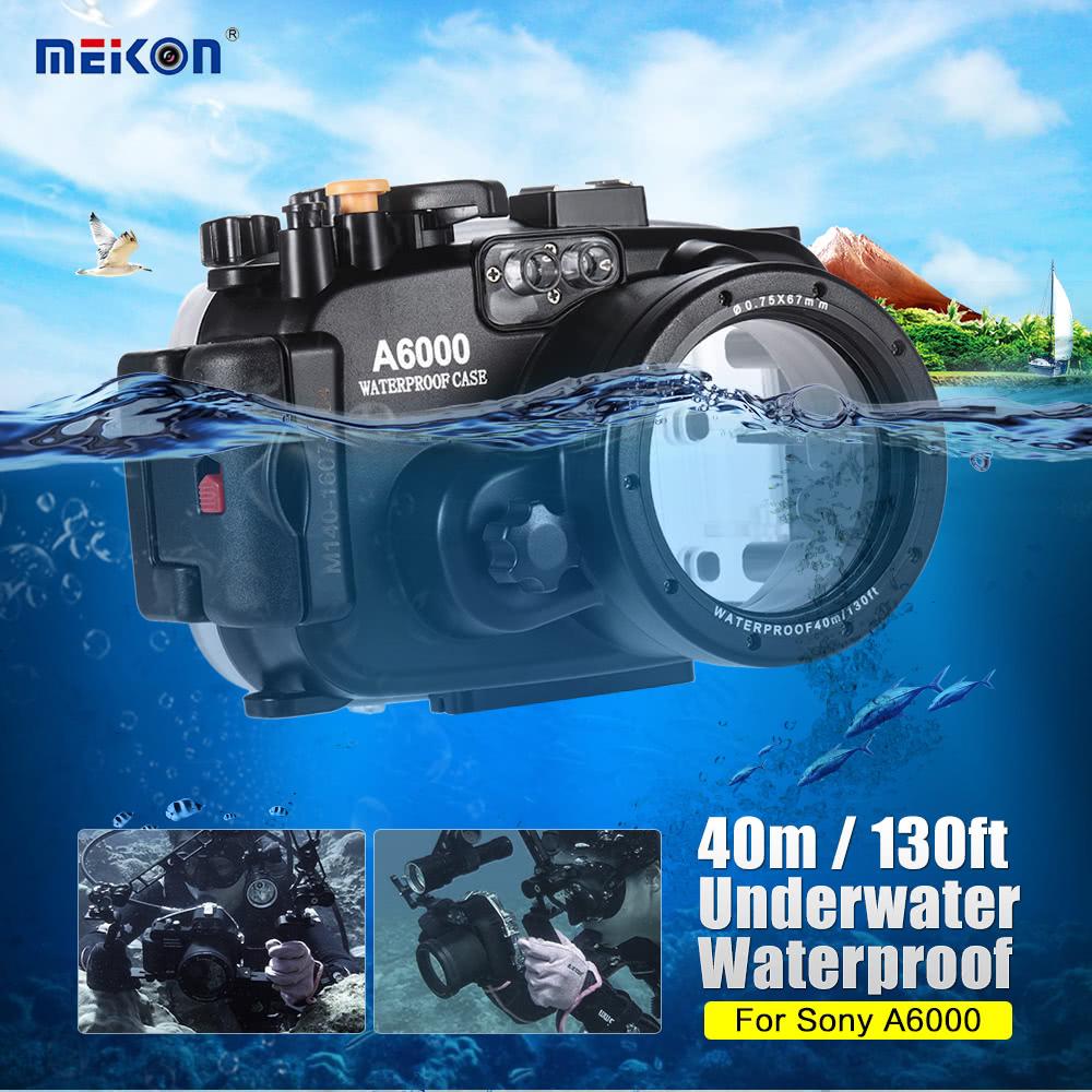 MEIKON SY-13 40m / 130ft Underwater Waterproof Camera Case