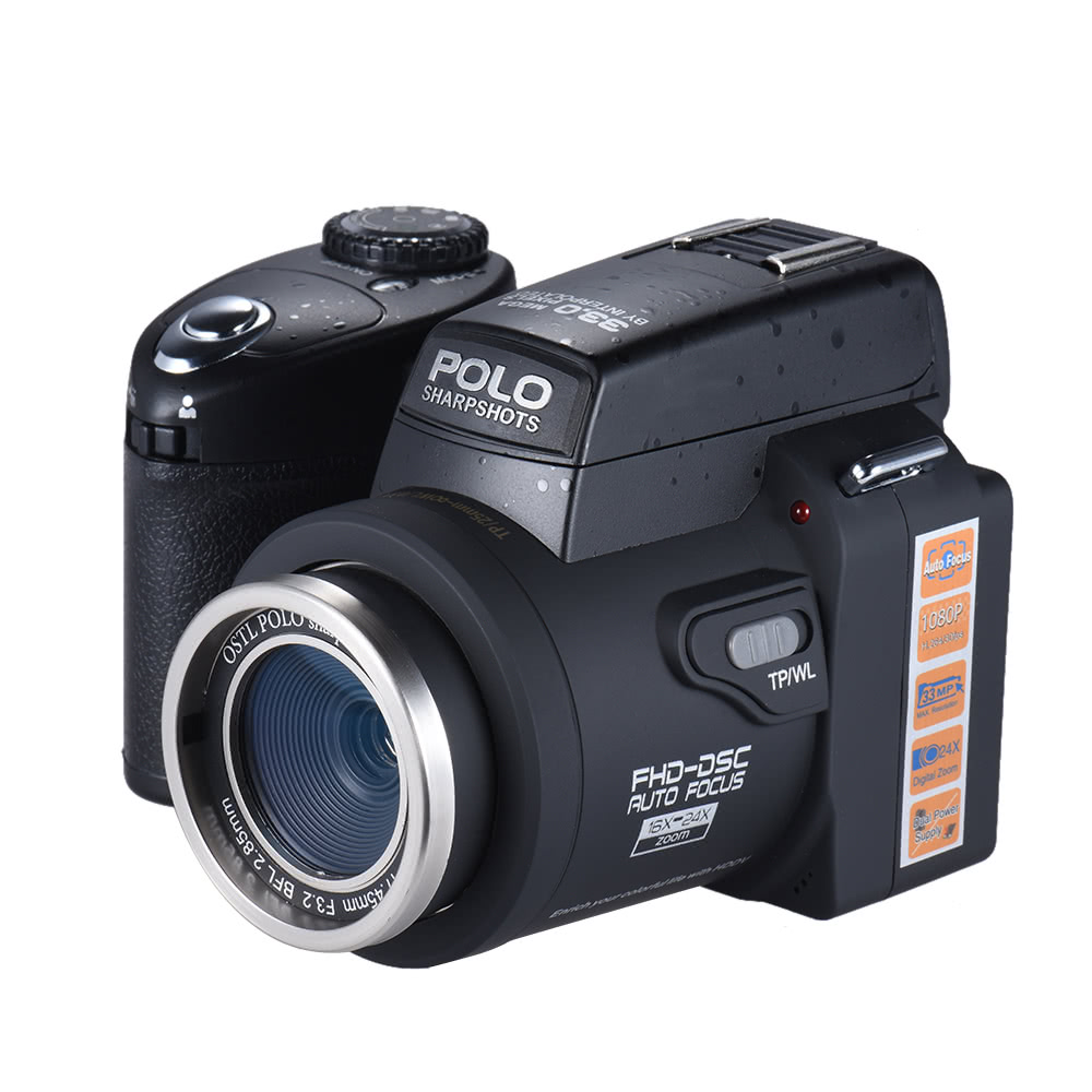 Polo Sharpshots Auto Focus Af 33mp 1080p 30fps Fhd 8x Zoomable Torch Messenger Bag Odate Abu Digital Camera Sales Online Tomtop