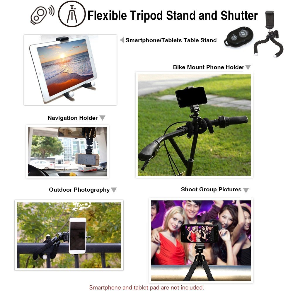 APEXEL APL-T18XBZJ5 Telephoto 4 in 1 Cellphone Lens Universal Kit