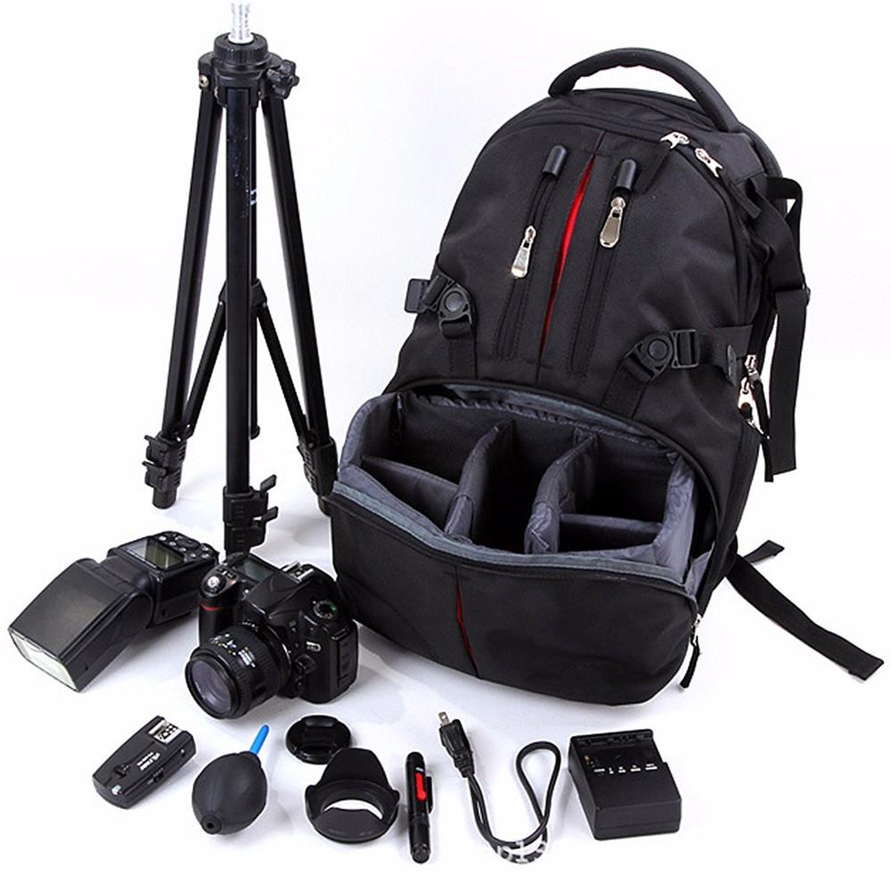 sac dos pour appareil photo professionnel slr camera laptop bag noir. Black Bedroom Furniture Sets. Home Design Ideas