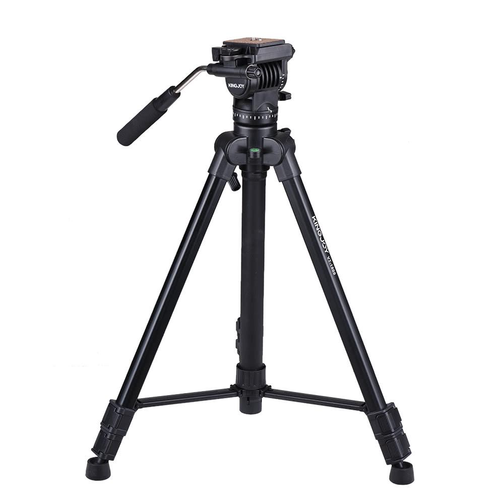 kingjoy vt-1500 166cm  5 4ft portable lightweight camera video tripod sales online color1