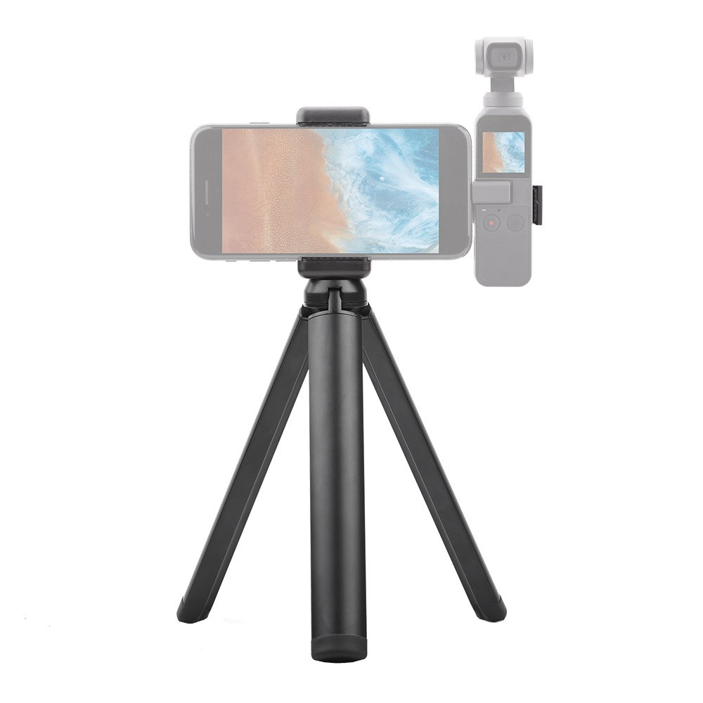 Handheld Mobile Phone Clip Holder Extended Mounting Bracket with Foldable Tripod Stand Kit for DJI OSMO Pocket Handheld Gimbal Camera Accessories