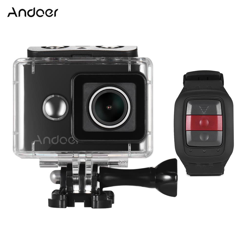 Andoer An8000 4k 30fps Wifi Action Sports Kamera Adopt Fr Camera Sportcam Ultra Hd 16 Mp 1080p Ambarella A12 120fps 720p 240fps Full 16mp Mit 24g Wireless Fernbedienung