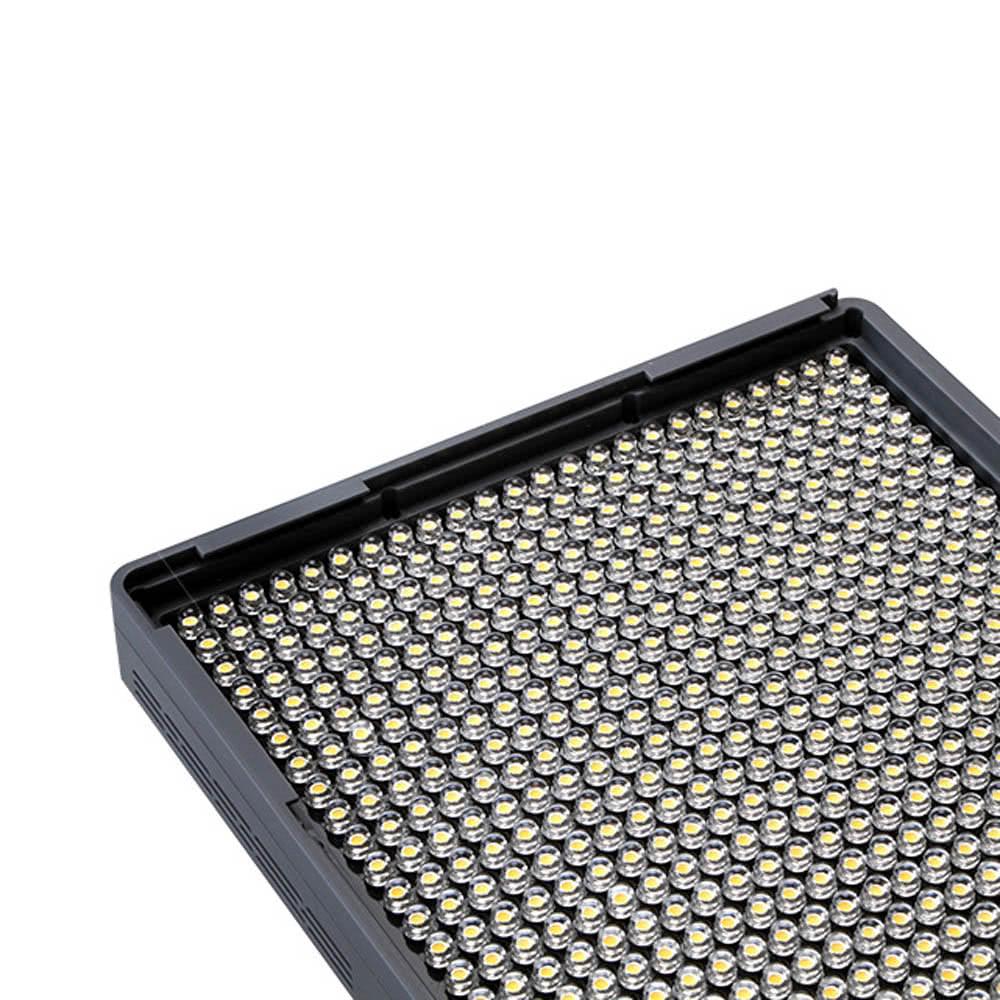 Aputure amaran hr672c led video light cri95 672 led panneau de r glage de la luminosit de la - Panneau led video ...