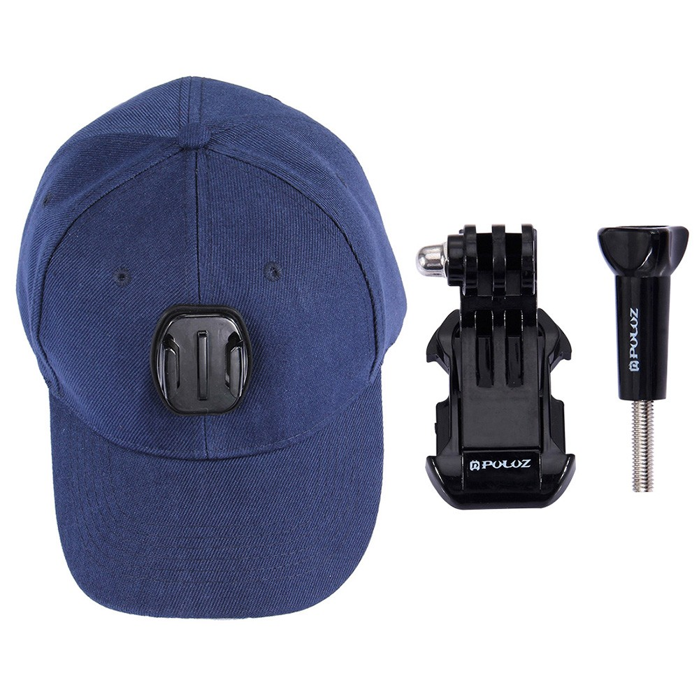 5725-OFF-PULUZ-Sports-Camera-Hat2bCap-2b-Screws2bJ-Hook-Buckle-Mountlimited-offer-24399