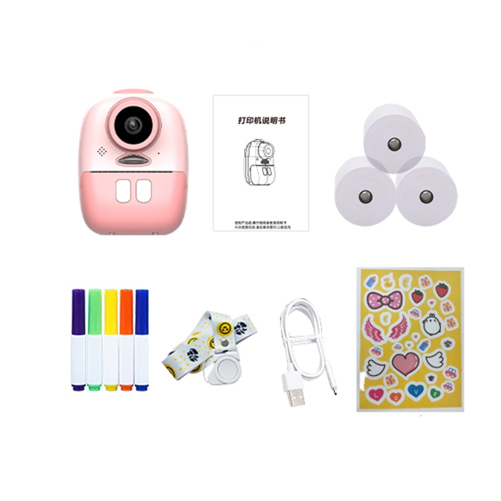 Small Digital Kids Camera for Girls and Boys Instant Print Cameras