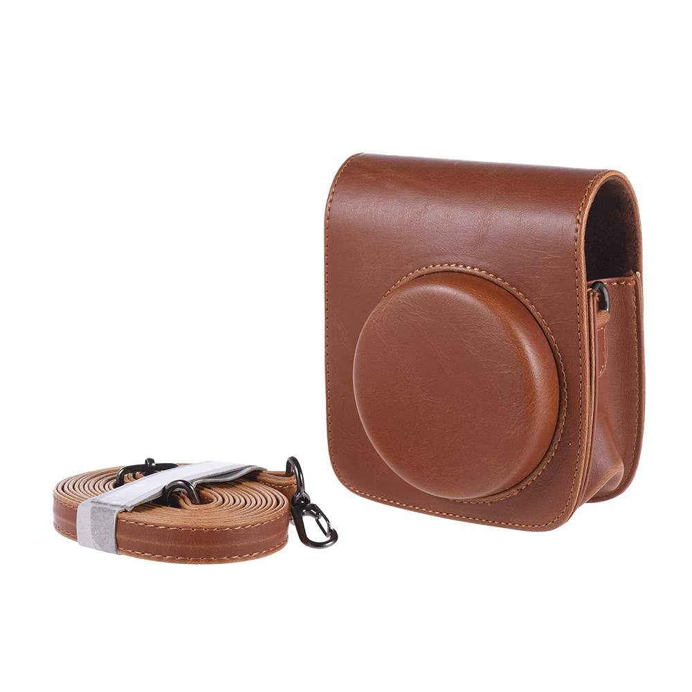 $2 OFF Vintage PU Protective Camera Case Bag,free shipping $7.99