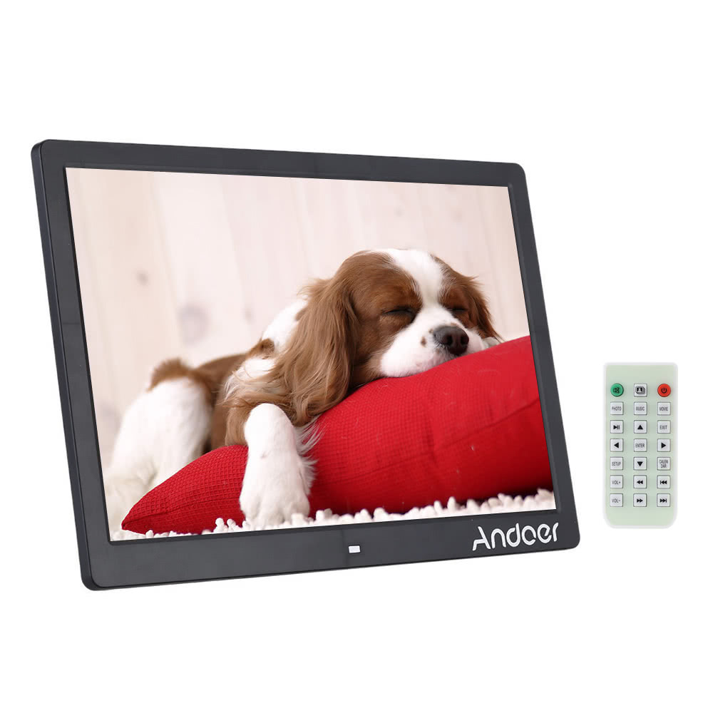 "Andoer 15.6"" LED Digital Photo Picture Frame"