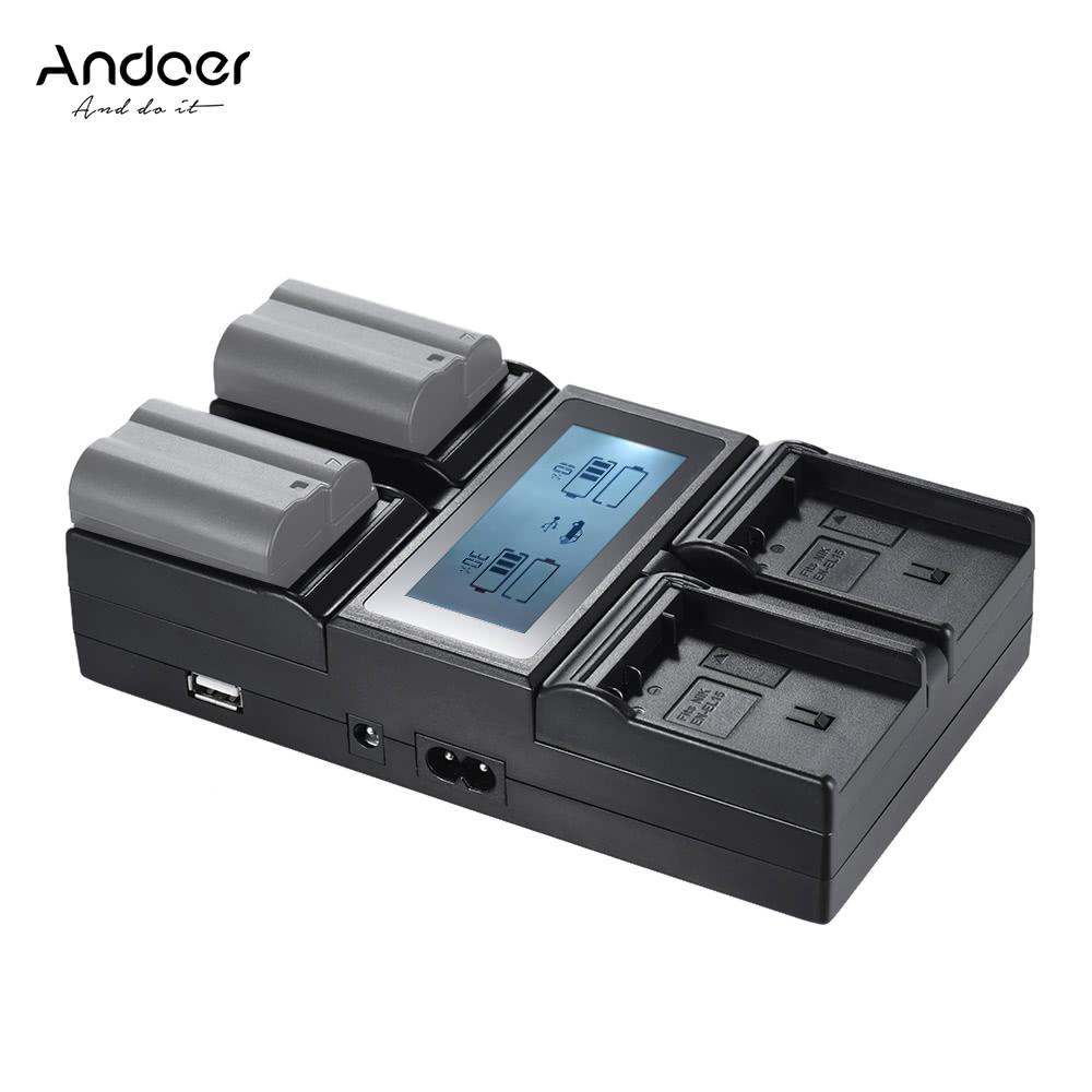 Andoer en el15 chargeur de batterie pour appareil photo for Ecran appareil photo