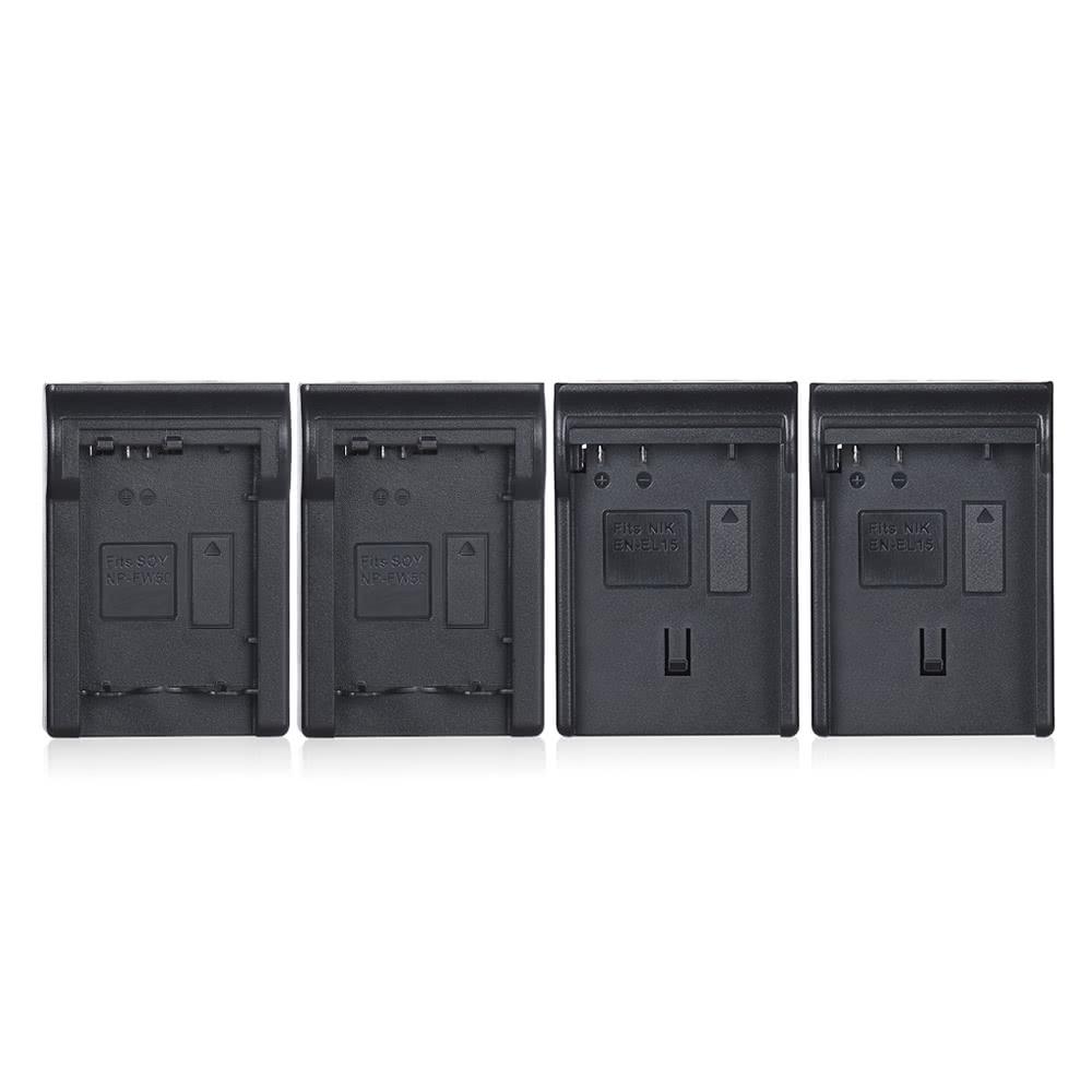andoer en el15 np fw50 npfw50 4 kanal digitalkamera akkuladeger t mit lcd display f r nikon d500. Black Bedroom Furniture Sets. Home Design Ideas