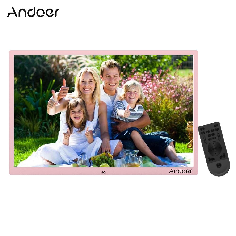 Andoer 17inch Aluminum Alloy Led Digital Photo Frame Sales Online