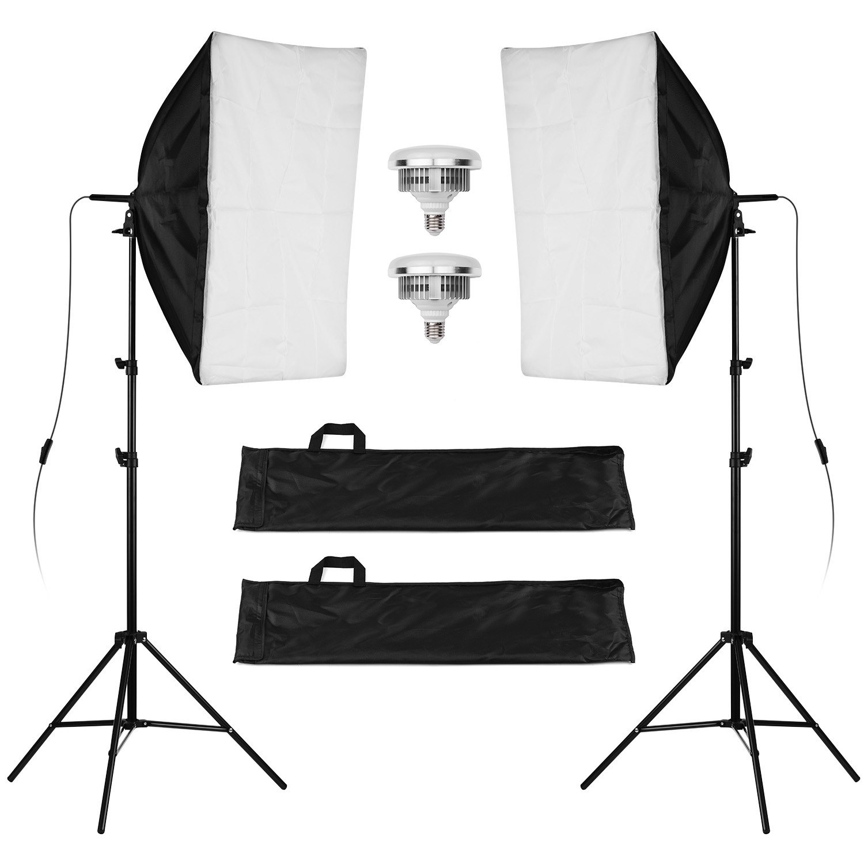 Tomtop - [EU Warehouse] 88% OFF LIFE OF PHOTO LF-ET5750II Studio Softbox Lighting Kit, $49.99+ (Inclusive of VAT)